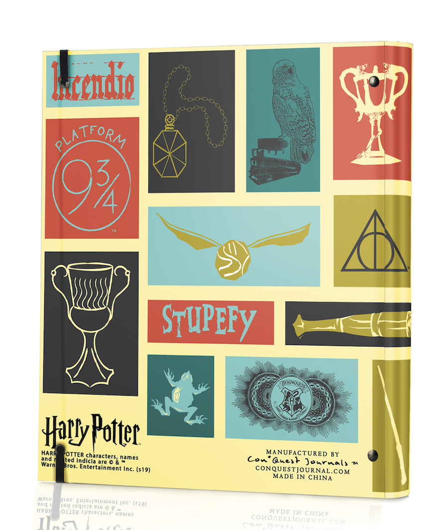 ConQuest Harry Potter Icons Binder back cover