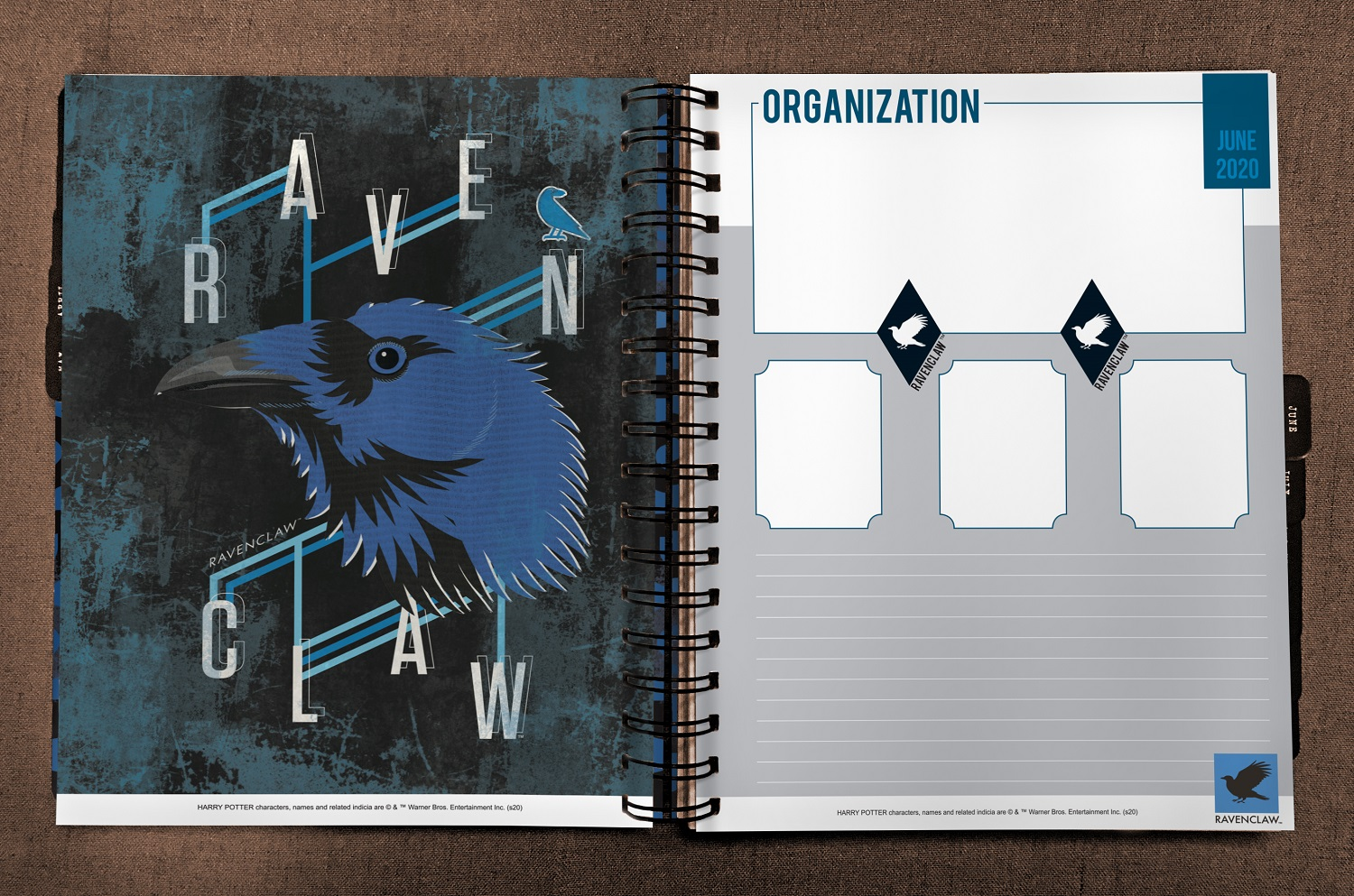 ConQuest Harry Potter Ravenclaw 2020 inside spread