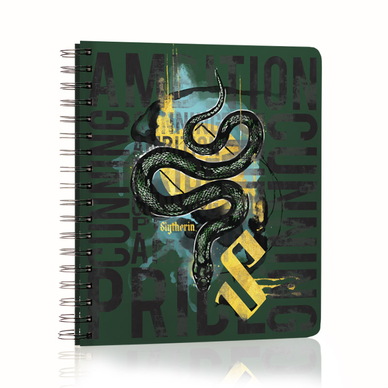 ConQuest Harry Potter Slytherin 2020 House Planner, front