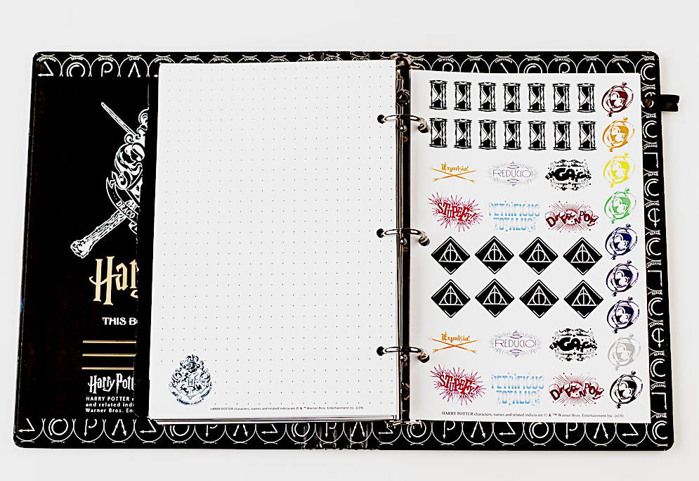ConQuest Journals Celestial Planner sticker page