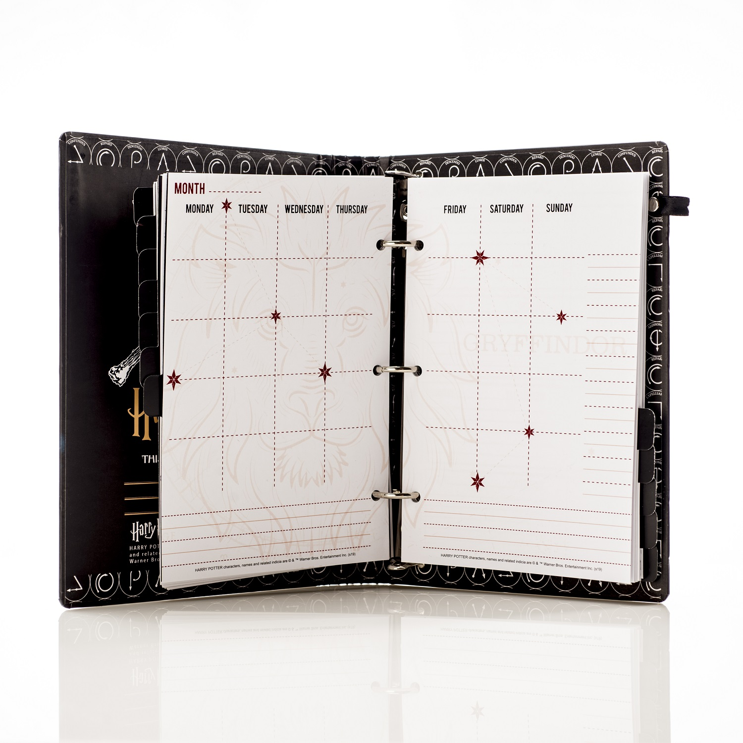 ConQuest Journals Celestial Planner monthly pages