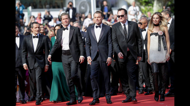 David Heyman walks the red carpet at Cannes with Brad Pitt, Leonardo DiCaprio, Quentin Tarantino, and Margot Robbie