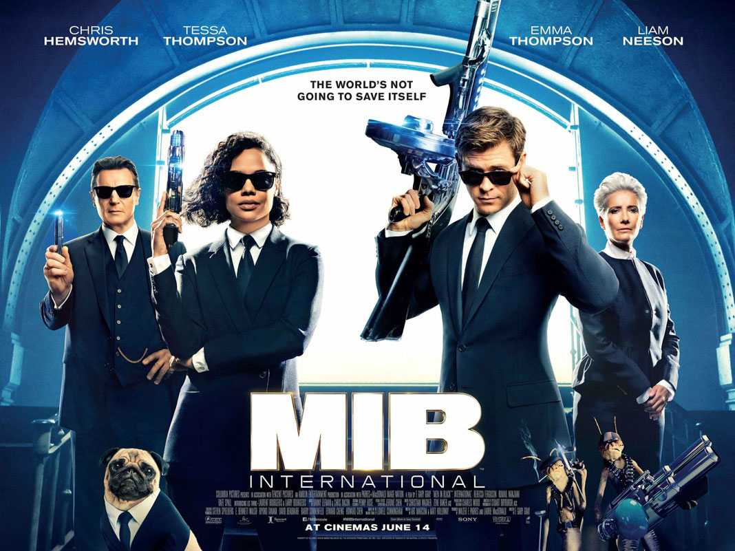 "A new poster for ""Men in Black: International"" features Thompson in her role as Agent O."