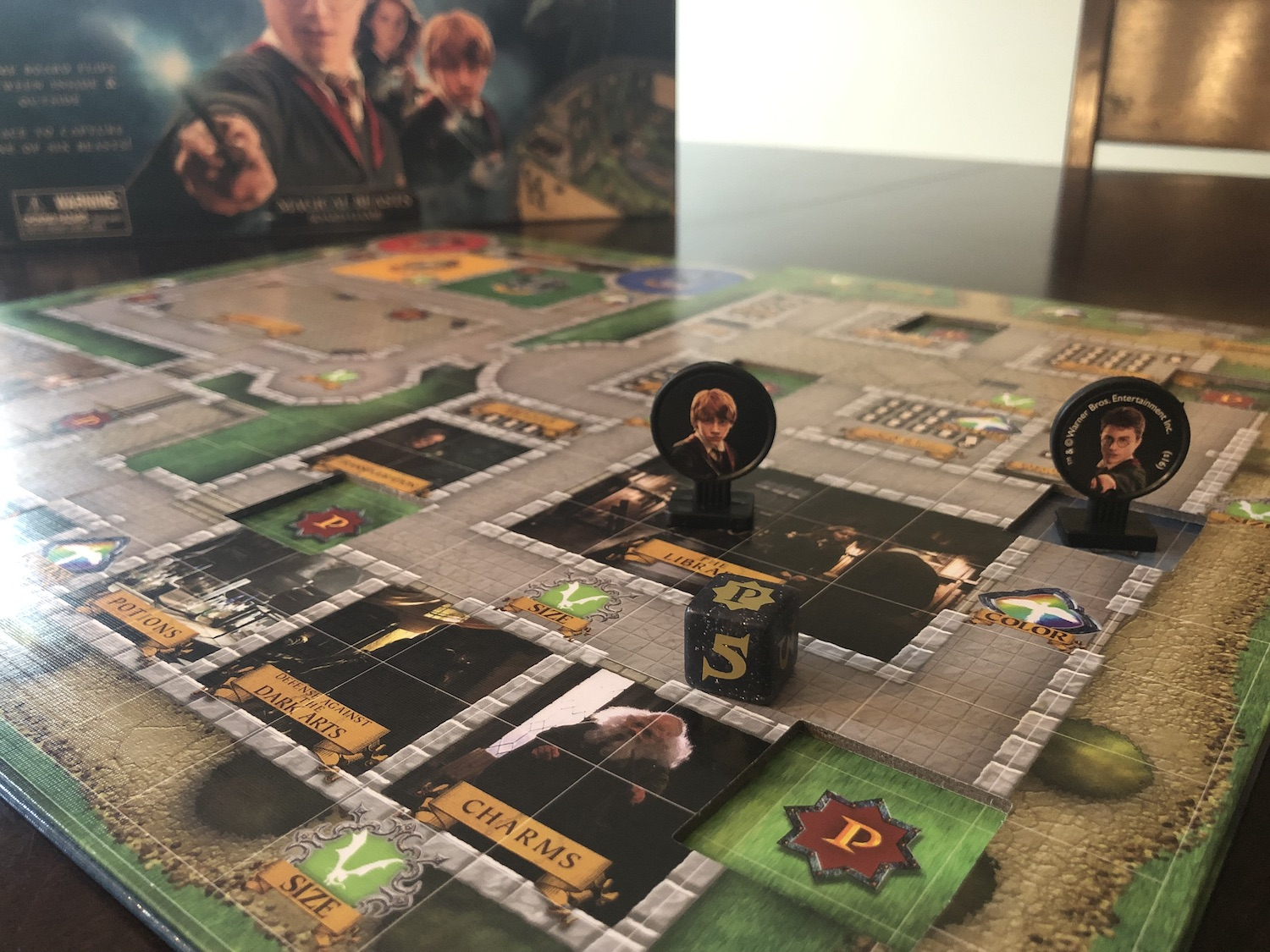 Harry Potter Magical Beasts game pieces