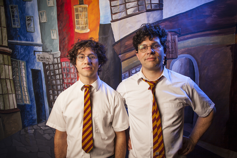 "Joe and Paul DeGeorge have been performing as Harry and the Potters since 2002 and will release their fourth full-length (and most political) album, ""Lumos"", in June 2019."