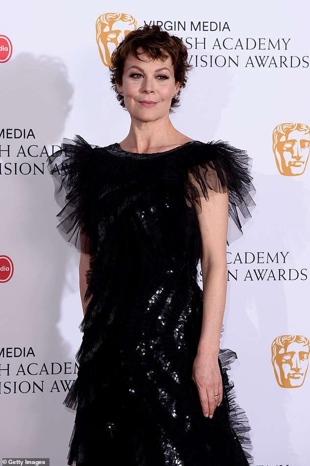 Helen McCrory looked impeccable at the BAFTA TV Awards.