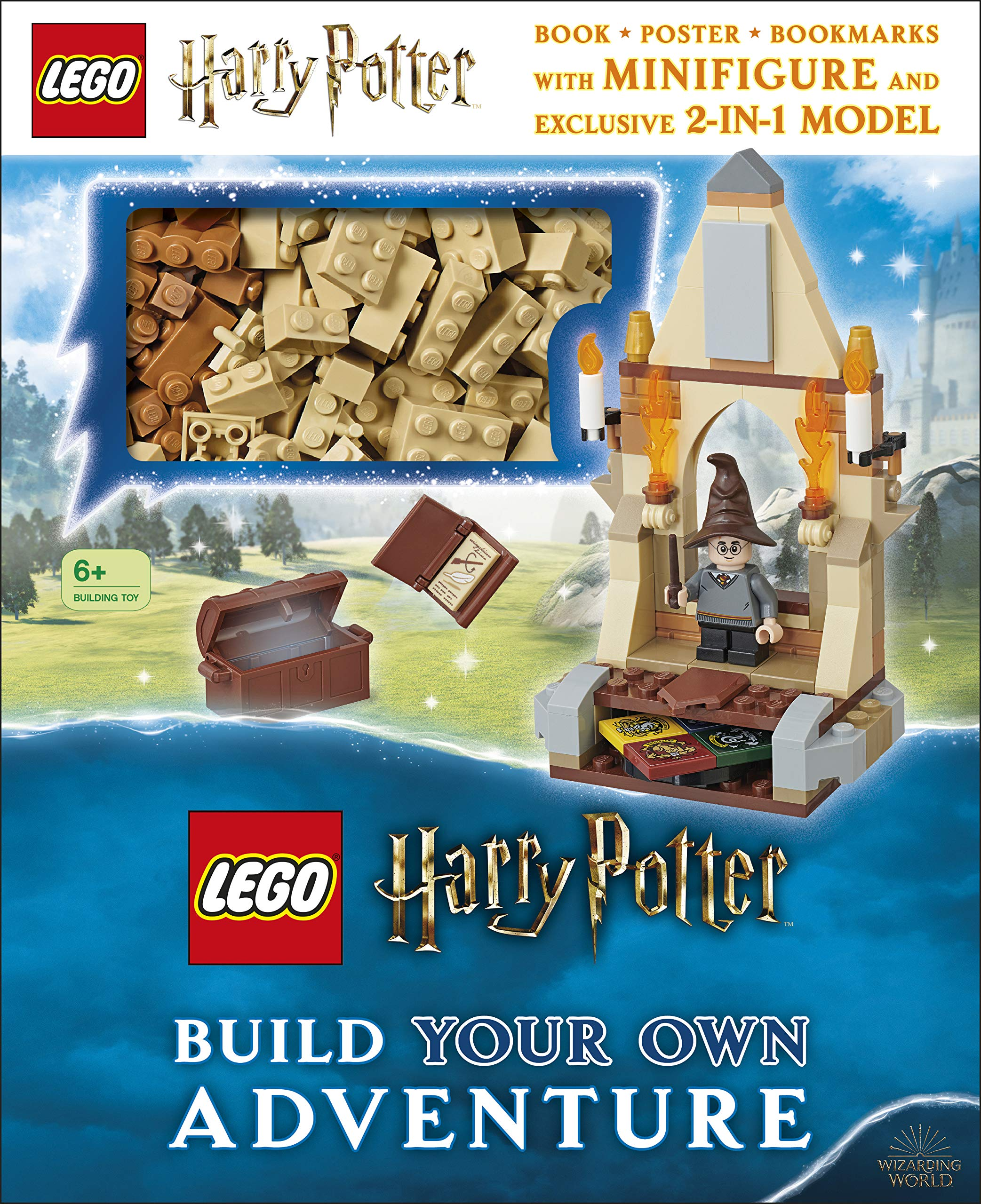 This set includes the instructions and pieces for a 2-in-1 set.