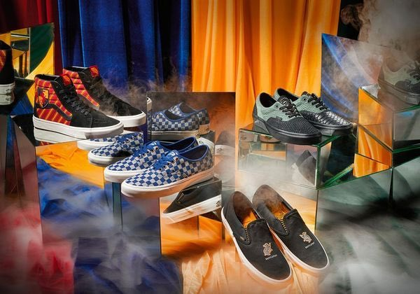 "House-themed ""Harry Potter"" Vans"
