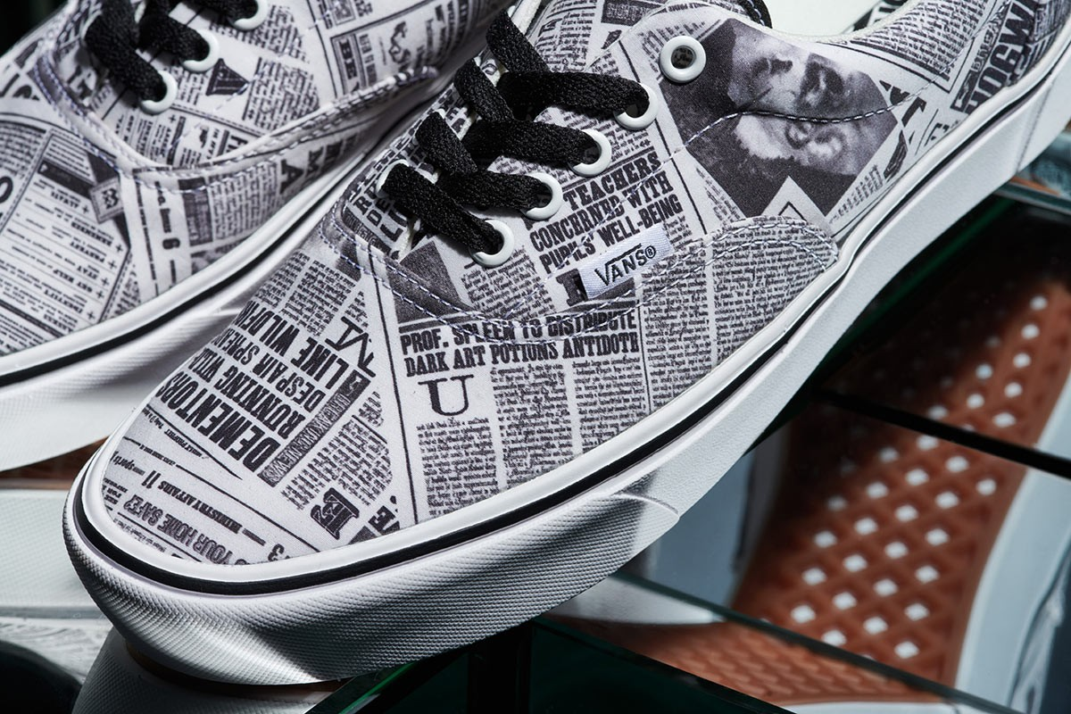 Daily Prophet Vans, in detail