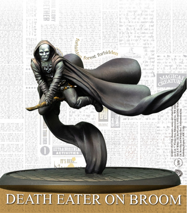 Each Death Eater figure has an incredible amount of detail to make them look realistic.