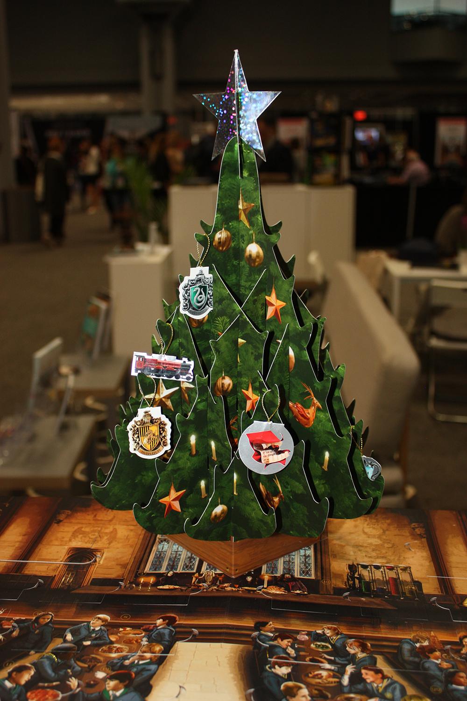 "Detail of ""A Hogwarts Christmas"""