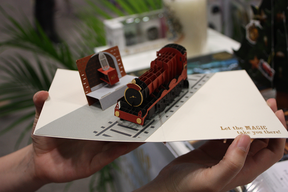 Hogwarts Express pop-up card