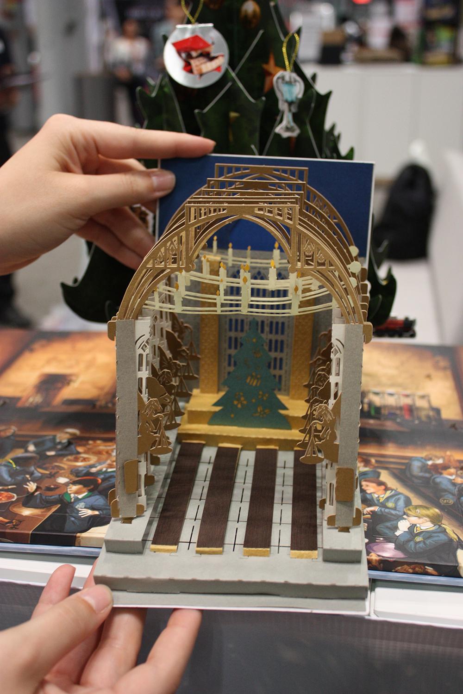 Great Hall pop-up Christmas card