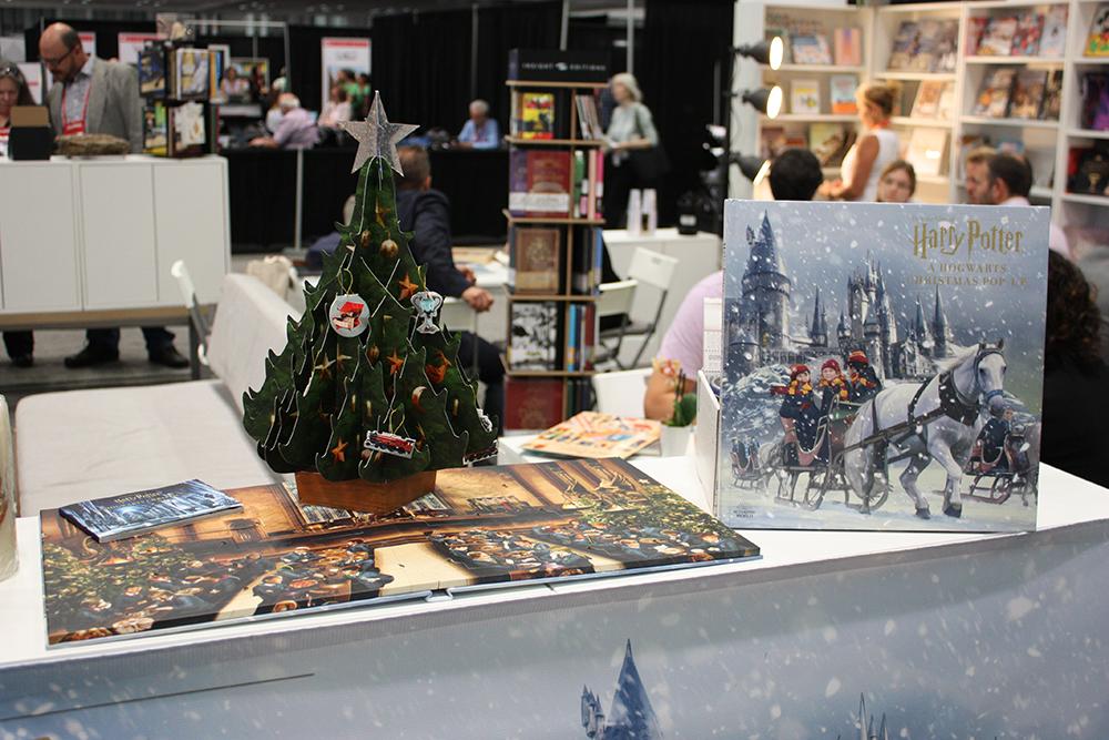 """A Hogwarts Christmas"" display"