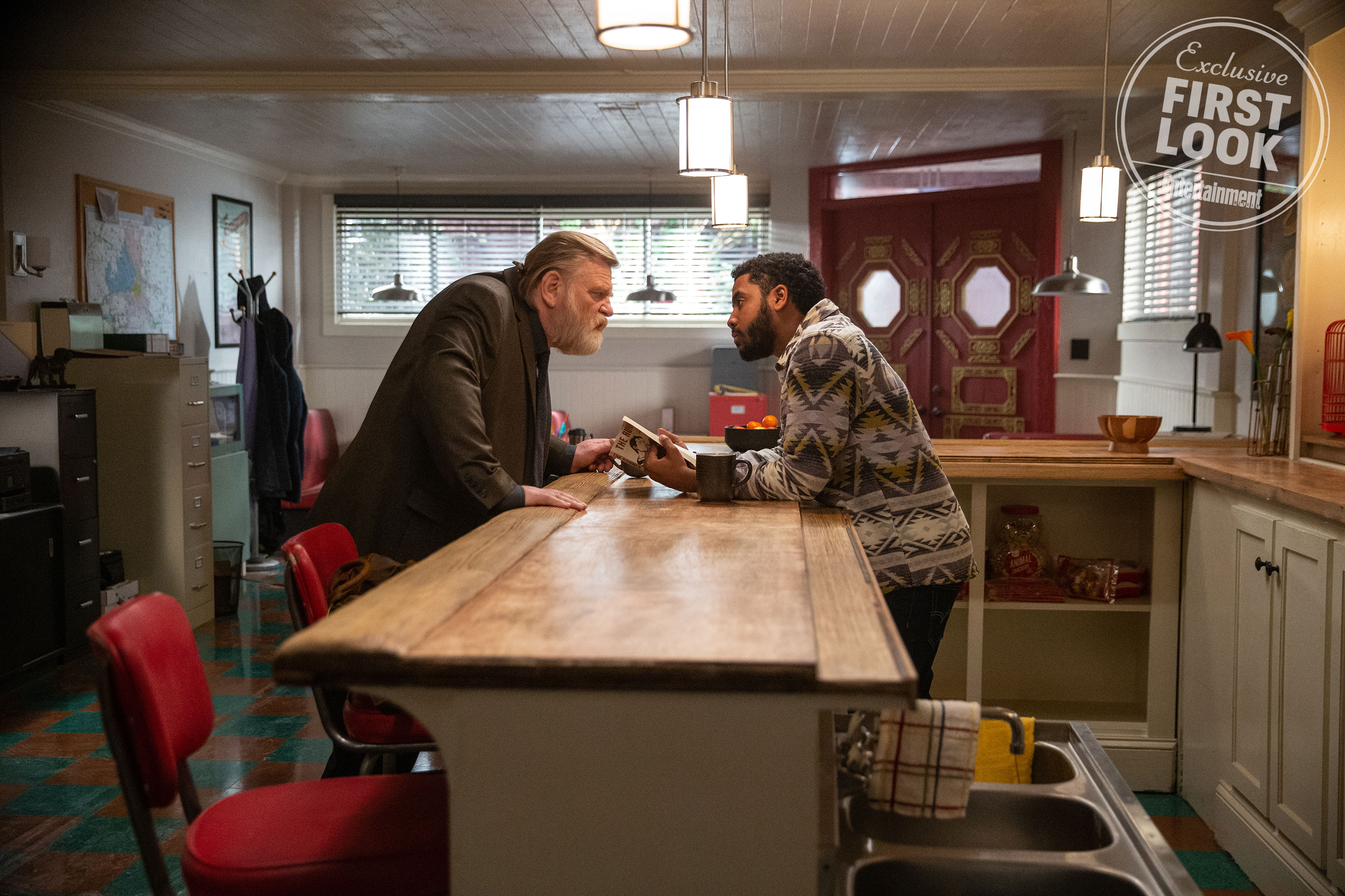 "Brendan Gleeson in a still from Season 3 of ""Mr. Mercedes""."