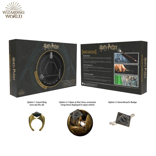 The Gaunt family ring from Wow! Stuff's Deathly Hallows set