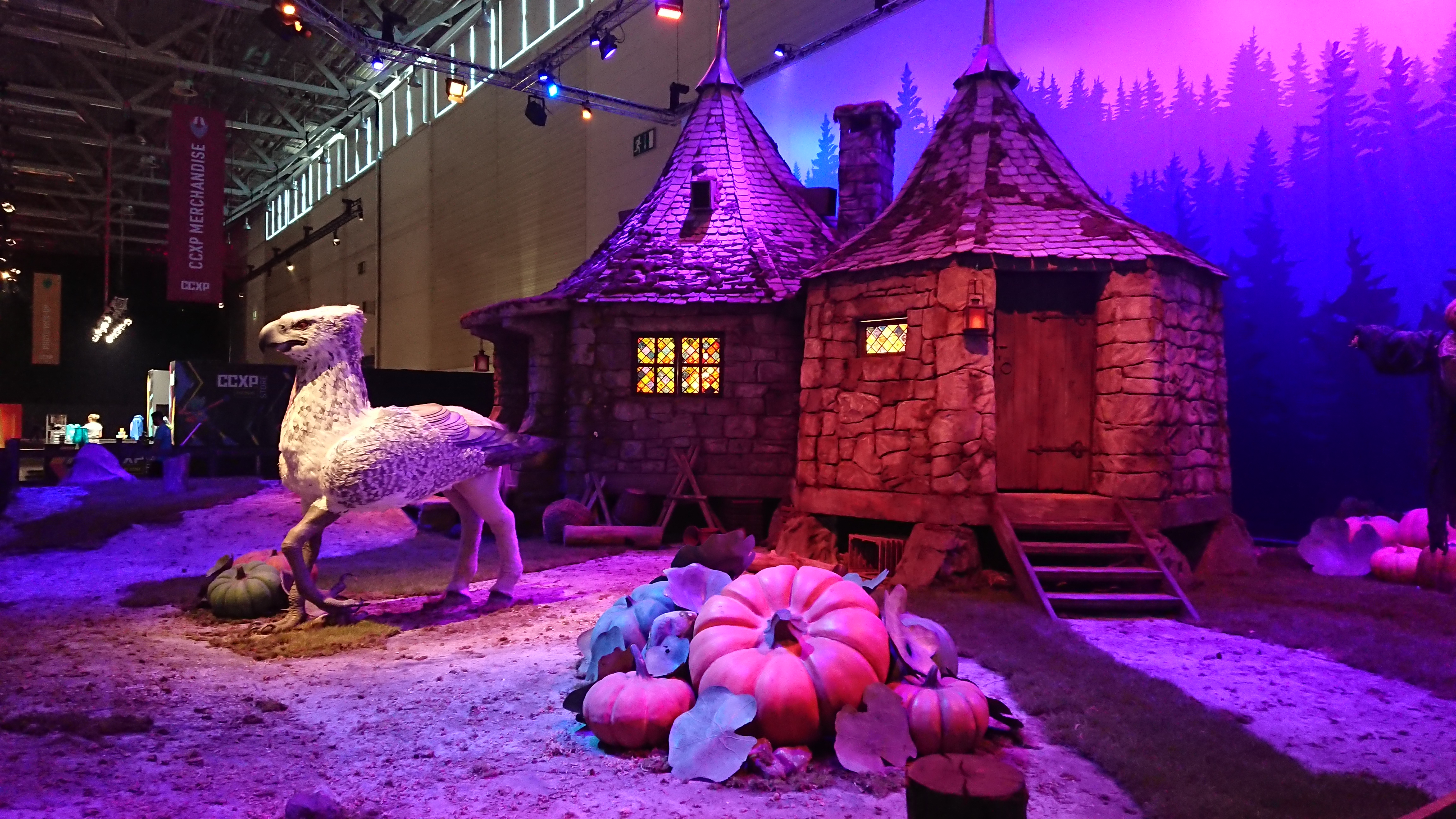 Hagrid's hut at CCXP 2019