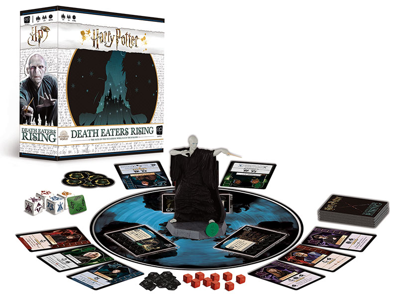 "Harry Potter Death Eaters Rising will be the 16th ""Potter"" product in USAopoly's line of games and puzzles."