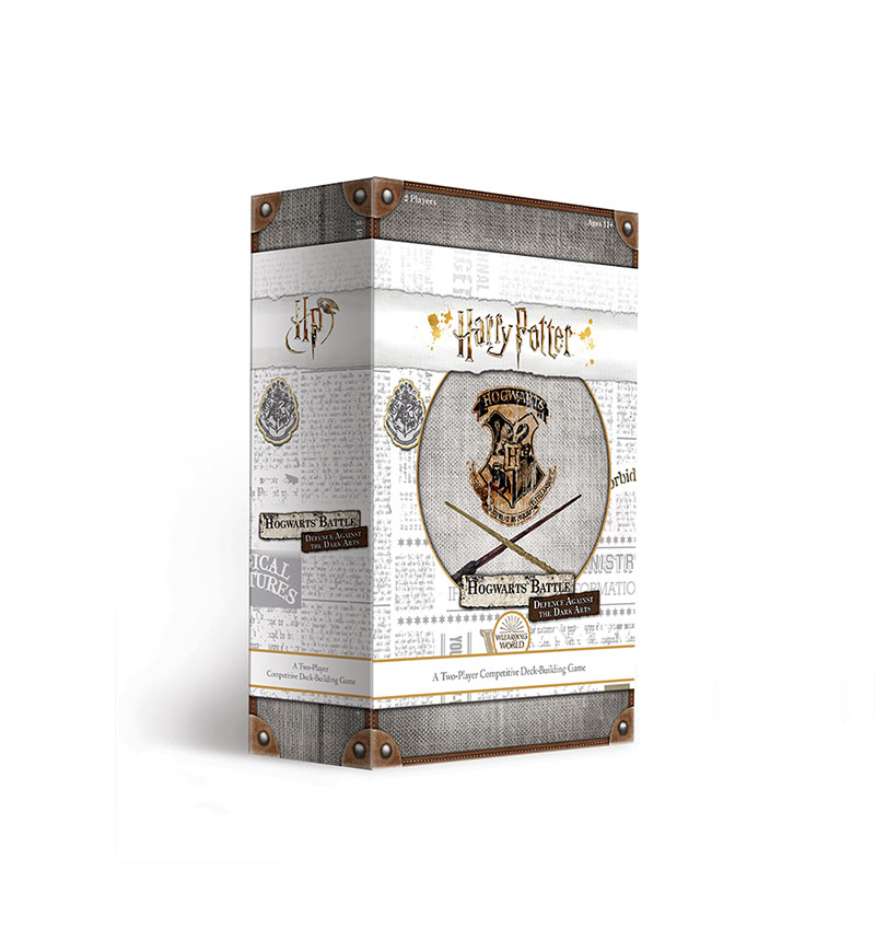 Harry Potter Hogwarts Battle: Defence Against the Dark Arts, front of the box