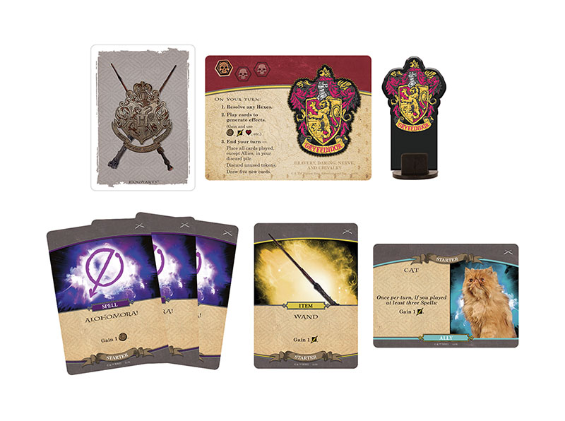 Harry Potter Hogwarts Battle: Defence Against the Dark Arts, game cards