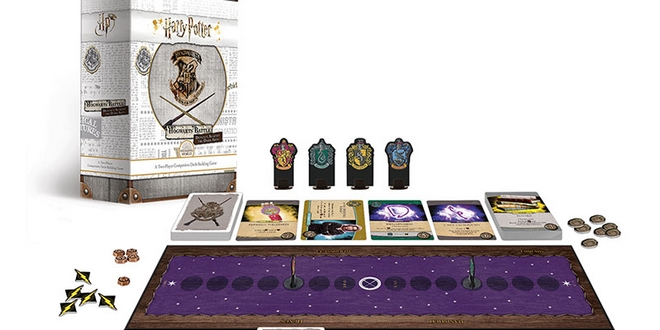 Review And Giveaway Win A Harry Potter Hogwarts Battle Defence