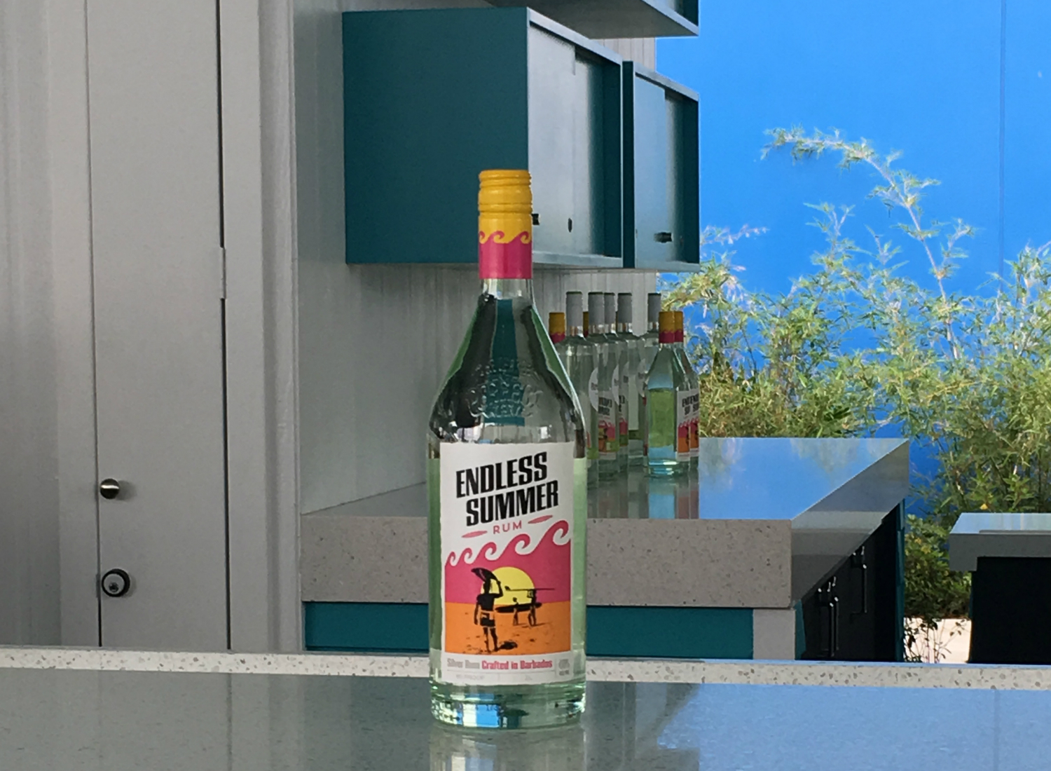 Surfside Inn & Suites Endless Summer Rum was crafted in partnership with a local distillery.