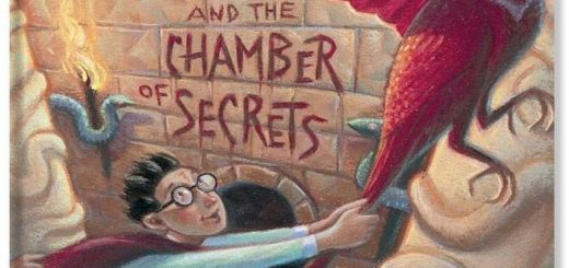 Harry Potter and the Chamber of Secrets US Book Cover