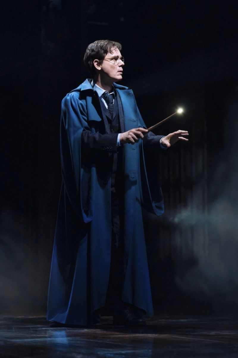 Jamie Ballard (Harry Potter) proceeds with caution.