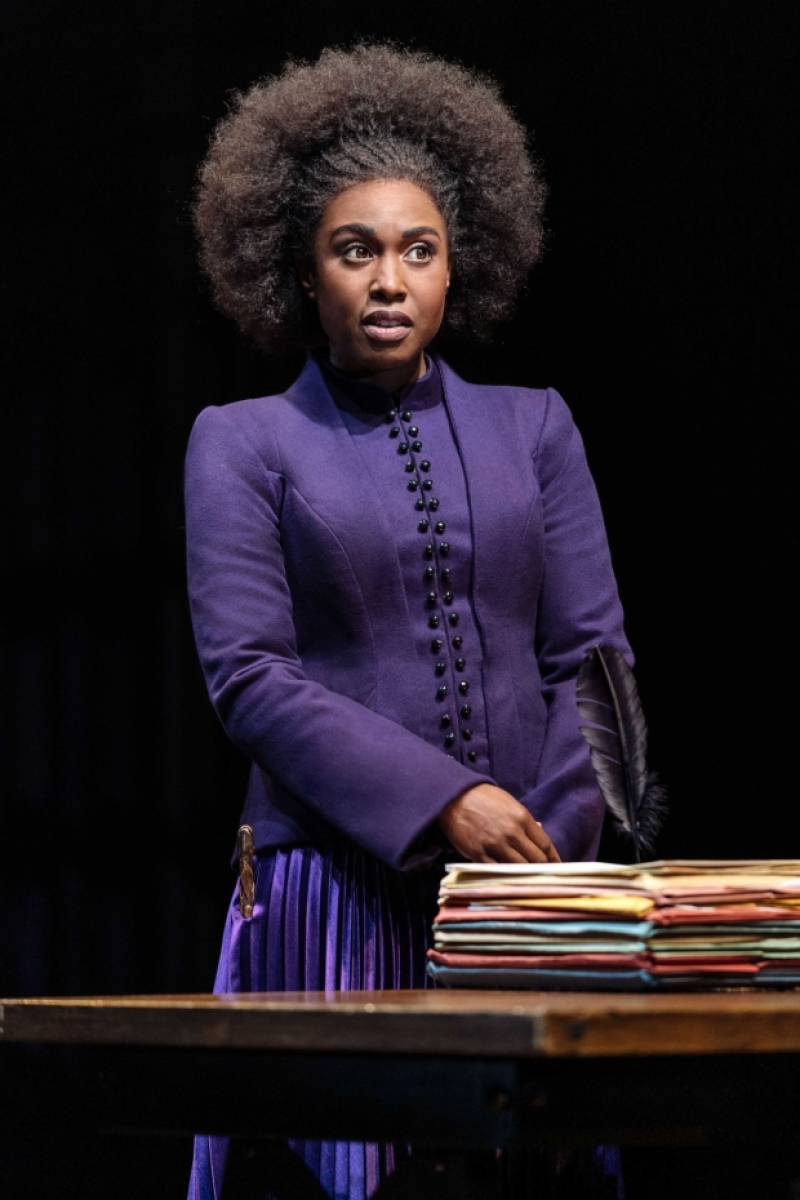 """Michelle Gayle (Hermione Granger) is pictured in """"Harry Potter and the Cursed Child"""" London."""
