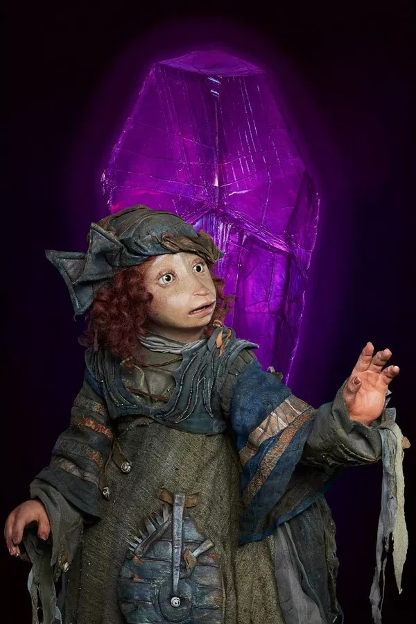 Pictured is Natalie Dormer's character, Onica, a Gelfling.
