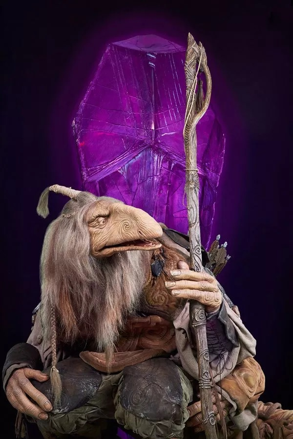 Pictured is Ólafur Darri Ólafsson's character, The Archer, a Mystic.