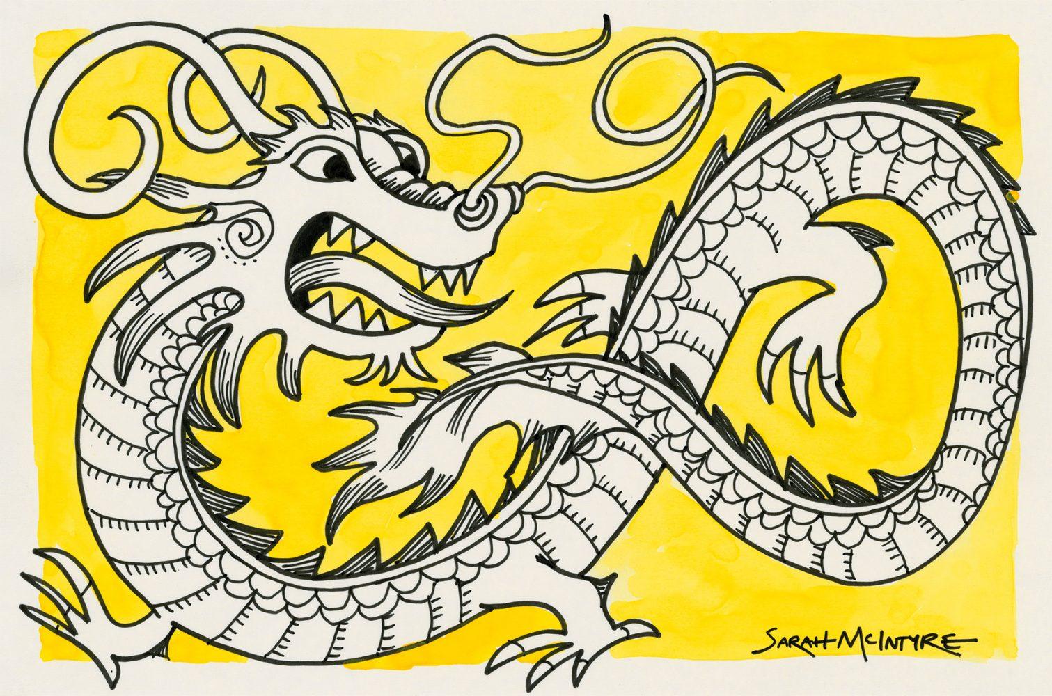 Dragon – Sarah McIntyre