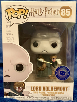 Voldemort Funko Pop! in the packaging, frontal view