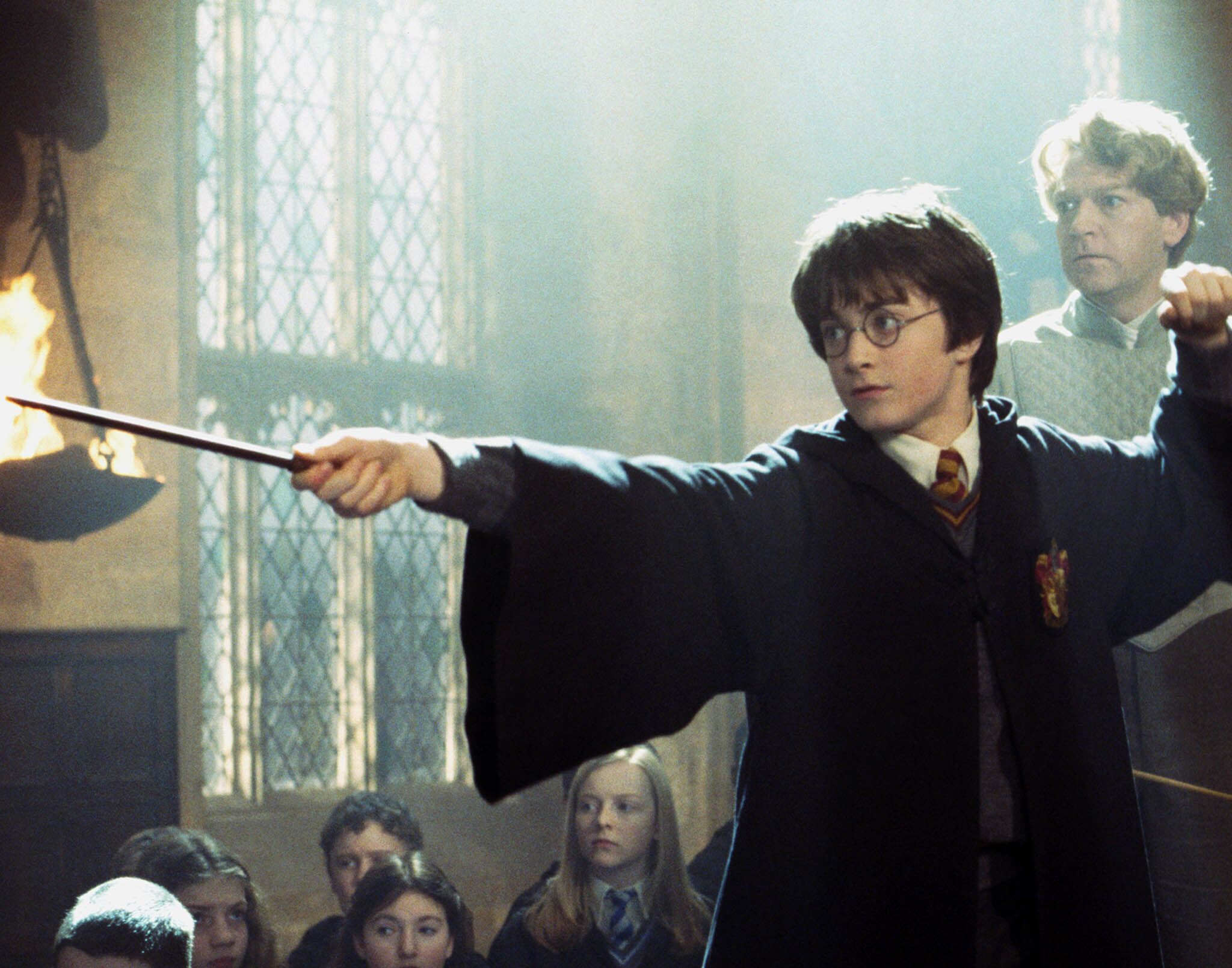 Harry Duels with Draco