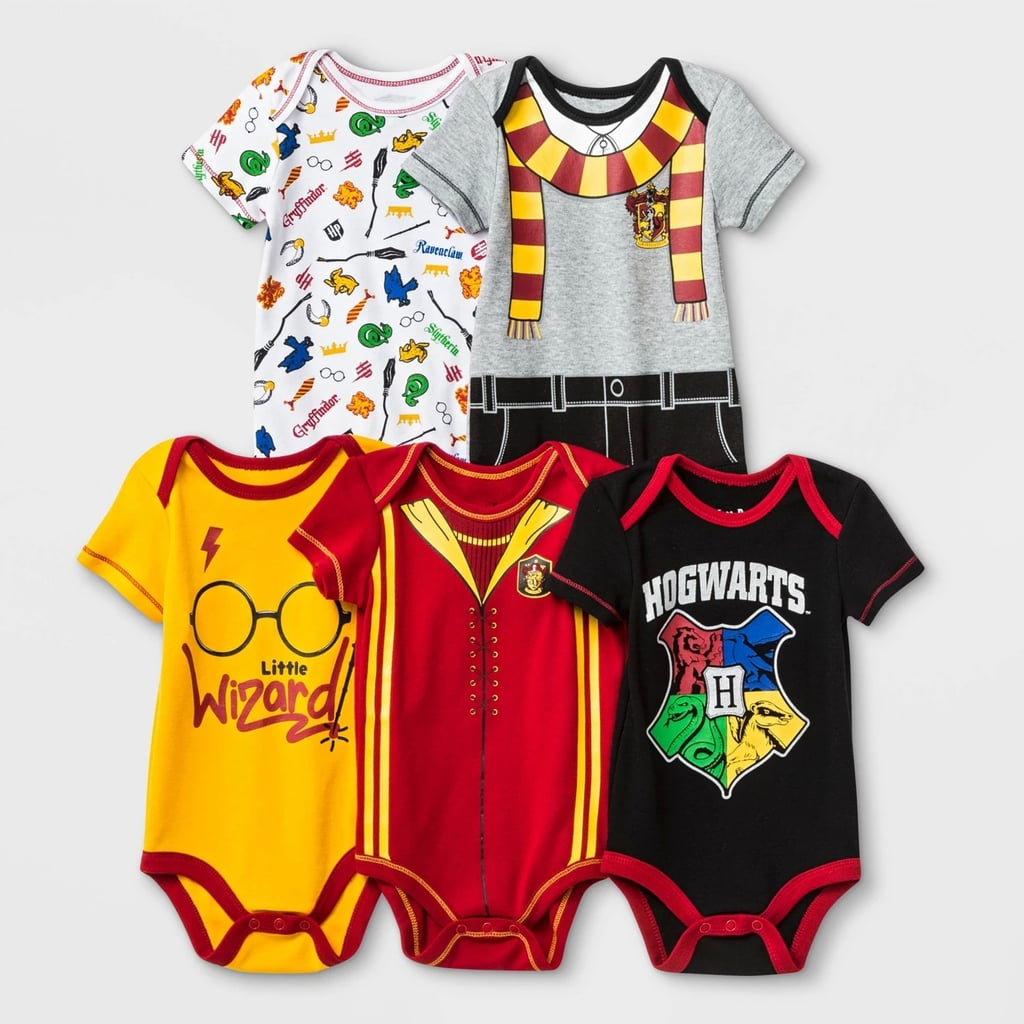 """Harry Potter"" 5-pack baby bodysuits"