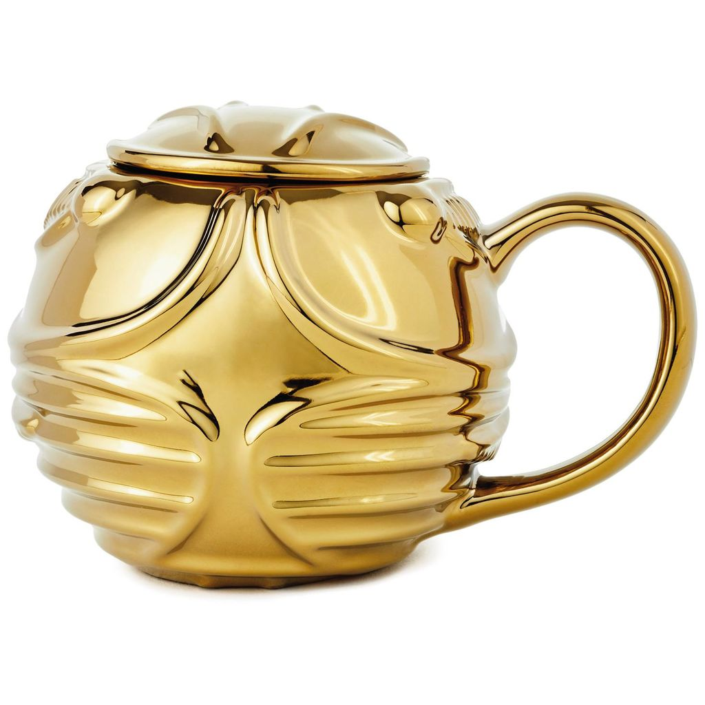 Harry Potter Golden Snitch Coffee Mug, back view