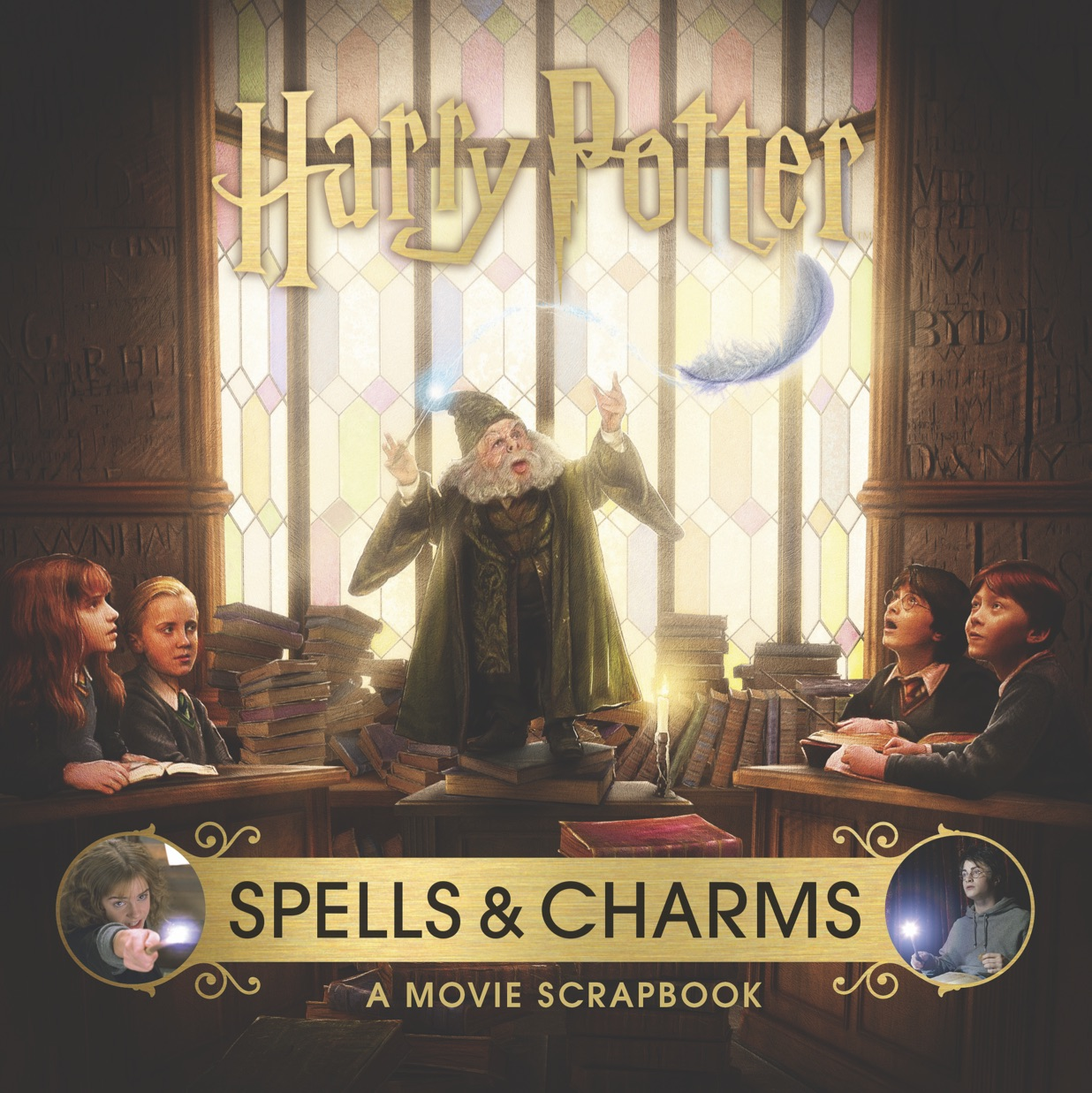 """Final cover for the """"Spells & Charms"""" book"""