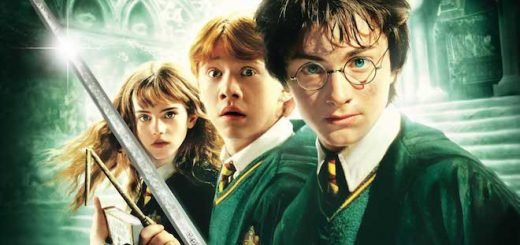 "The promotional poster for ""Harry Potter and the Chamber of Secrets"" is pictured."