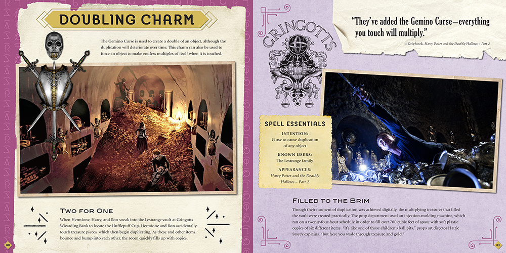"""Spells and Charms"" Doubling Charm spread"