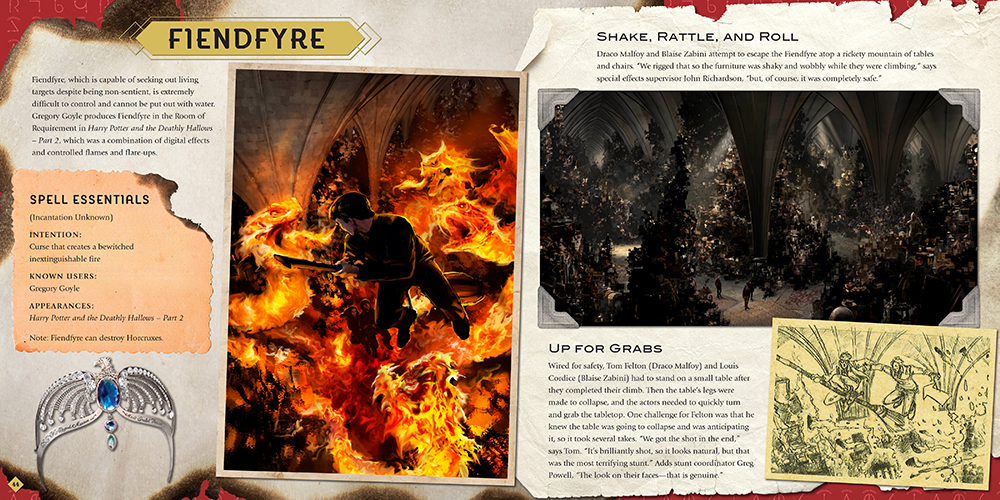 """Spells and Charms"" Fiendfyre spread"