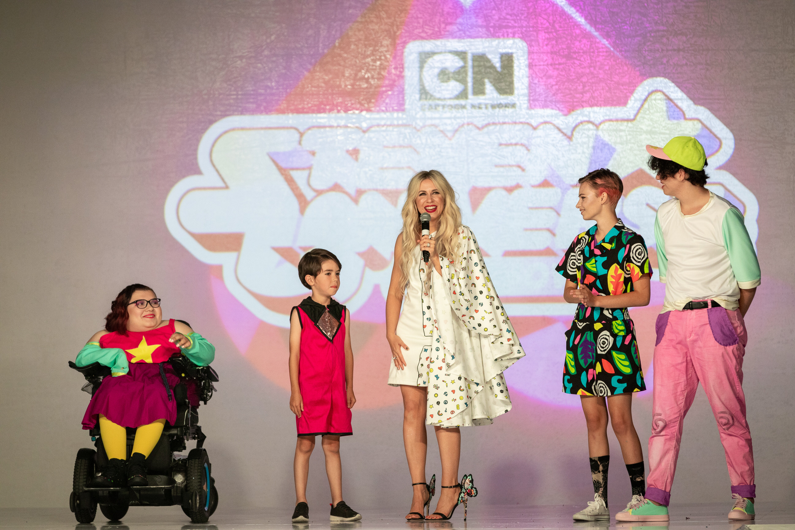 Junior fashion designers from Her Universe at San Diego Comic-Con 2019