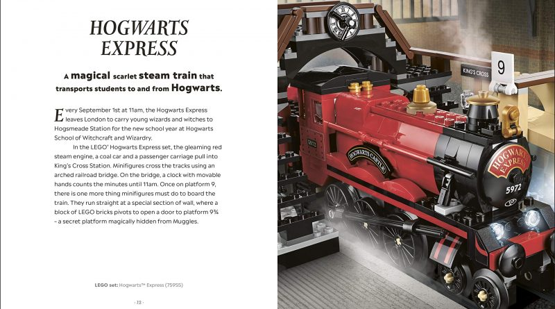 The Hogwarts Express is one of the magical modes of transportation featured in the guide.