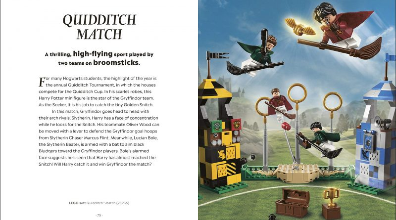 """The """"Quidditch Match"""" set not only looks dynamic but also features a movable Oliver Wood figure."""