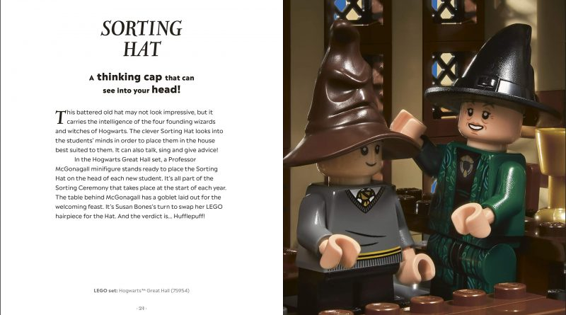 """Available in hardback, this 128-page guide will be a must-have for both """"Potter"""" and LEGO fans."""