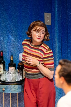 """Sophie Thompson is pictured during a scene from """"Present Laughter""""."""