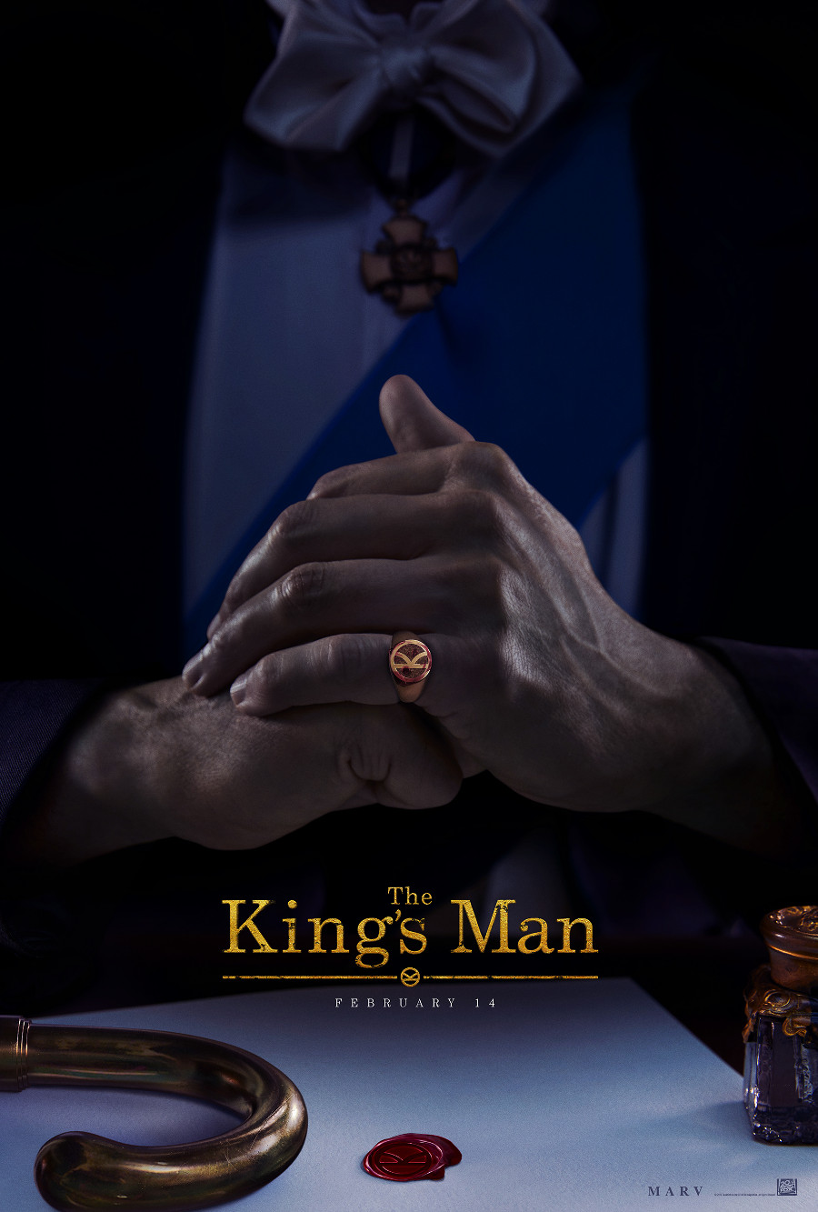 "The movie poster for ""The King's Man"""