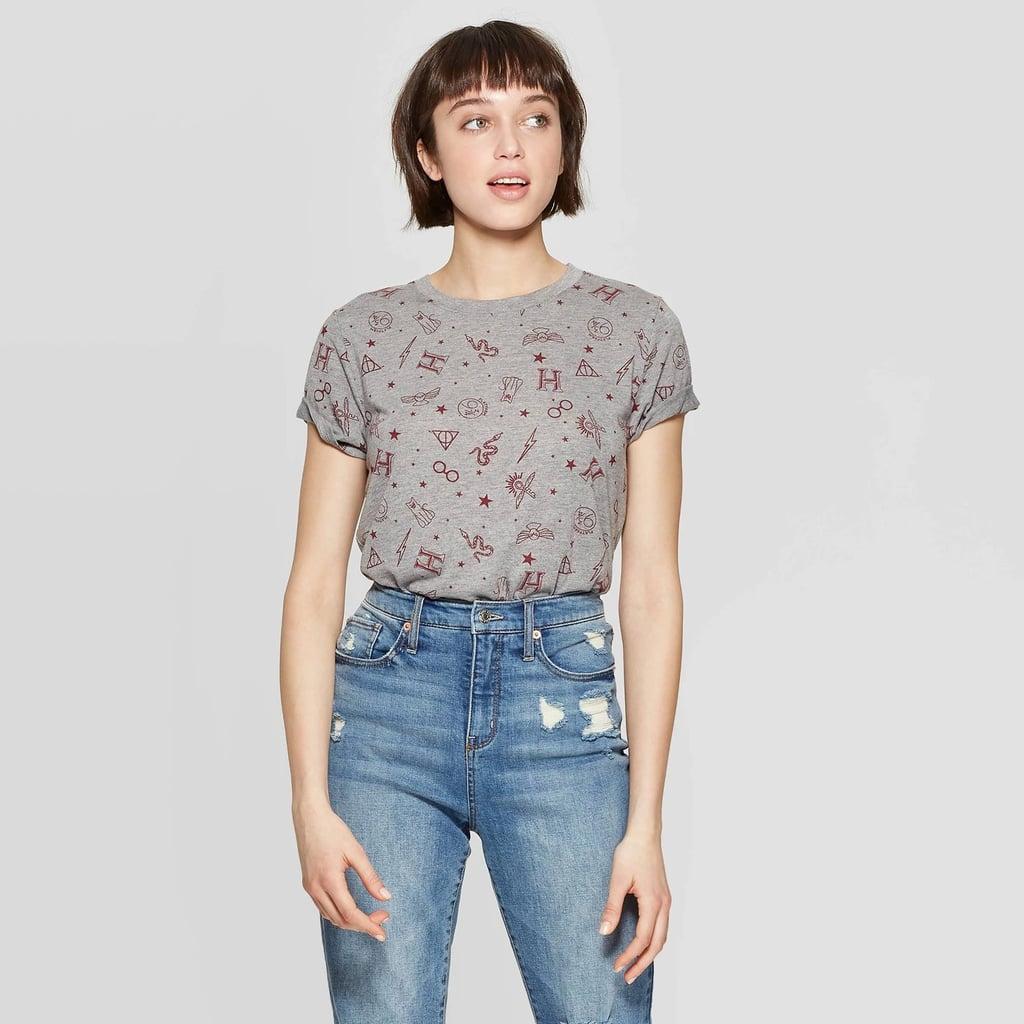 "Women's ""Harry Potter"" short-sleeved round-neck T-shirt"