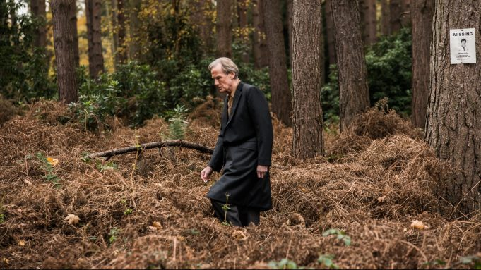 """Bill Nighy is pictured in a still from """"Sometimes Always Never""""."""