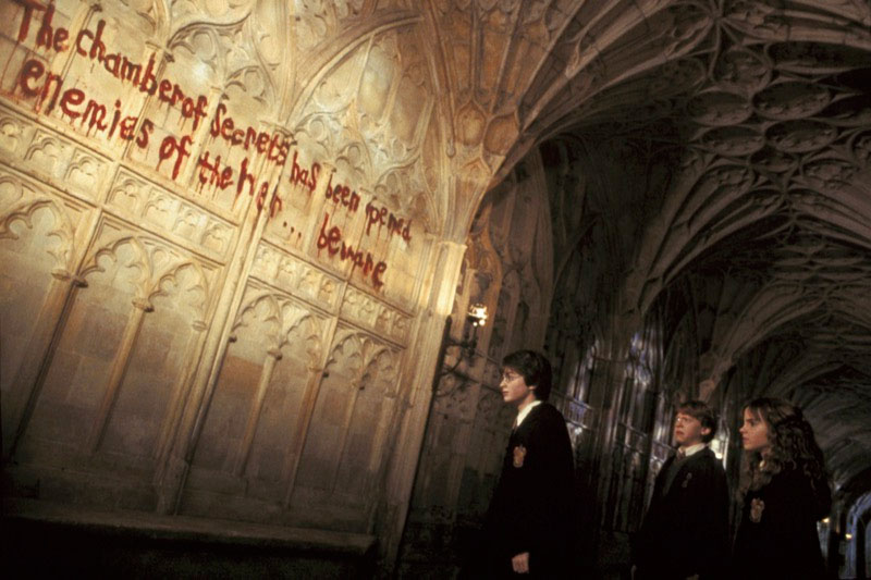 """You can view a screening of """"Harry Potter and the Chamber of Secrets"""" this month at the Hollywood Forever Cemetery."""