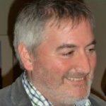 Illustrator Chris Riddell smiling